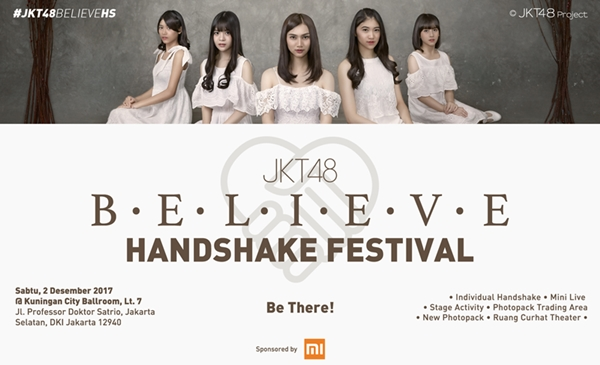 B・E・L・I・E・V・E Handshake Festival